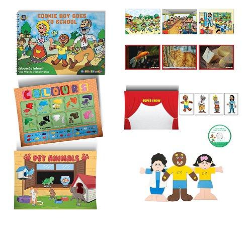 Cookie Boy Goes to School - Storytelling Kit