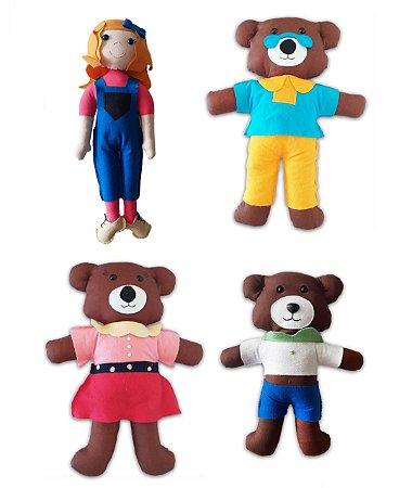 Goldilocks and the Three Bears - Kit