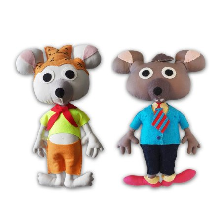 The Country Mouse and the Town Mouse - Kit