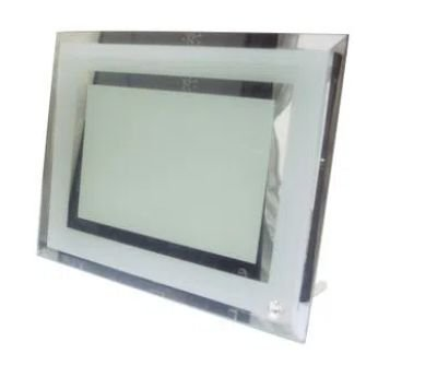 Porta-retrato de Vidro Espelhado para Sublimação - BL04