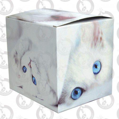 Caixa de Papelão p/ Caneca Decorada Gatinho pct c/ 10un