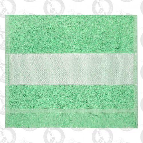 Toalha Mini Lavabo C/Franja Verde