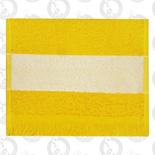 Toalha Mini Lavabo C/Franja Amarela
