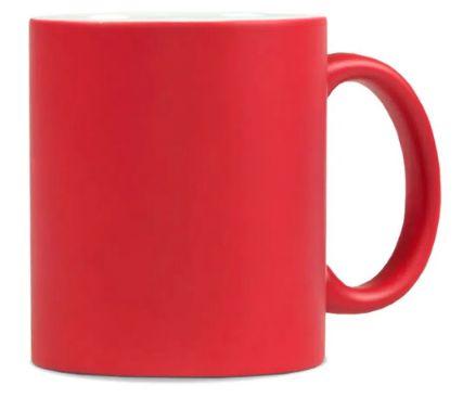 Caneca Mágica Fosca 325ml Vermelha