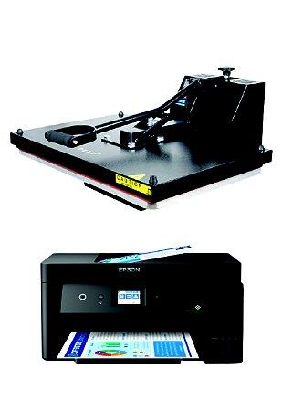 Sublikit Iniciante Prensa Plana 40x60 + Impressora Epson L14150 Sublimática