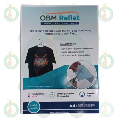 OBM REFLET T/ZERO C/LINER A4 PCT 10