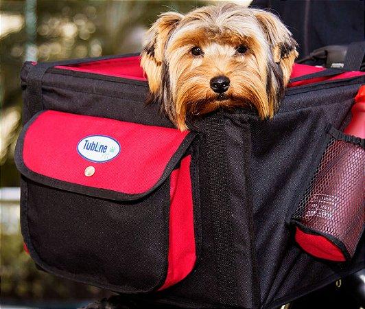 Bolsa Cesta Cadeirinha Para Bicicleta Transporte pet para cães e gatos TransBike – Tubline