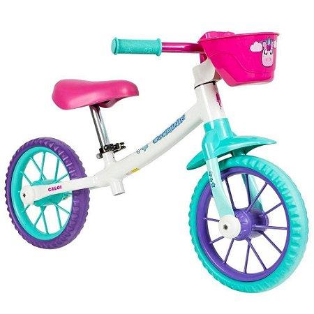 Bicicletas Infantis Balance Cecizinha Aro 12 e Balance Zigbim Aro 12 - Caloi