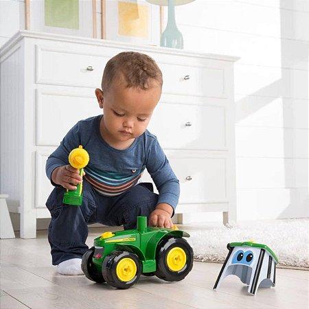 Brinquedo Mini Trator Infantil Construa o Mini Trator John Deere - Peg Pérego
