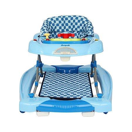 Andador Infantil Menino Baby Coupé Blue- Burigotto