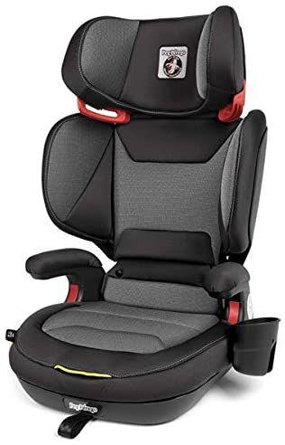 Cadeira para Auto Viaggio 2-3 Shuttle Plus 2 em 1 Isofix 4D Crytal Black - Peg-Pérego
