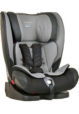 Cadeira para Auto Bebe Strada Isofix Gray Black 9 a 36kg - Burigotto
