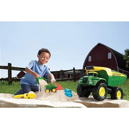 Brinquedo Caminhão com Caçamba de Aço Big Scoop John Deere - Peg-pérego
