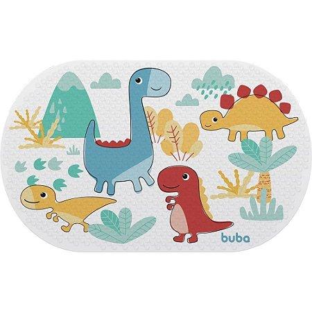 Tapete Infantil Para Banho com Ventosa Dino - Buba Baby
