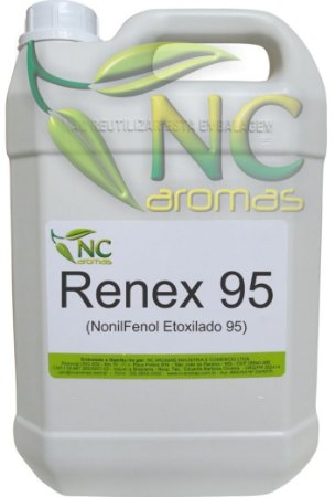 Renex 95 5Lt Nonilfenol 95 Solubilizante de Essências