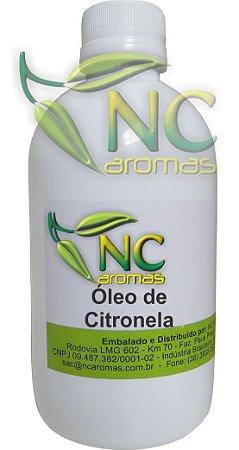 Óleo de Citronela 250ml Puro Óleo Essencial Natural