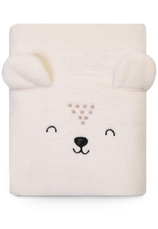 Cobertor Papi Microfibra Bichuus Bege