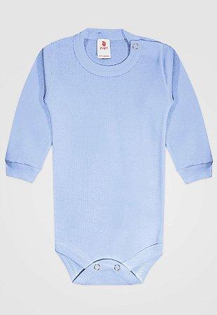 Body Zupt Baby Longo Básico Azul