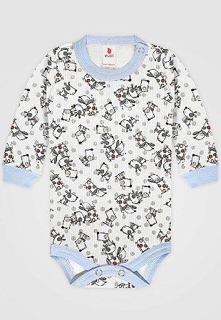 Body Zupt Baby Cachorro Azul