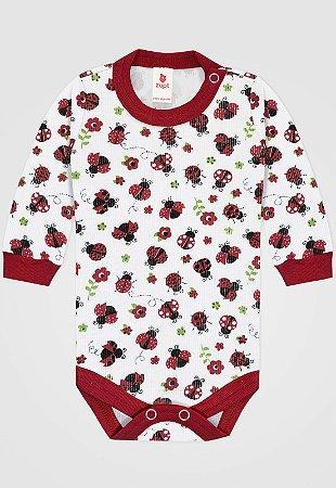 Body Zupt Baby Joaninha Vermelho