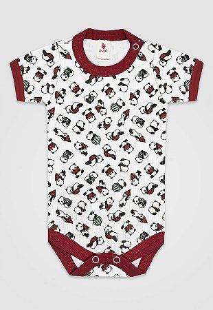 Body Zupt Baby Panda Vermelho