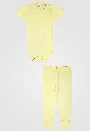 Conjunto 2pçs Zupt Baby Misto Amarelo