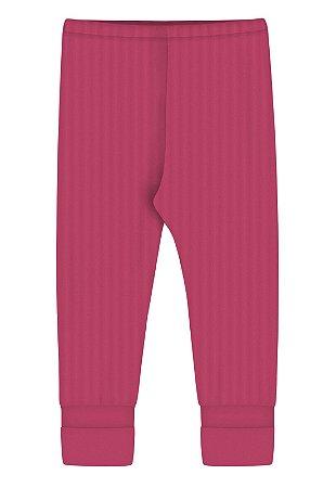 Calça Zupt Baby Pé Reversível Pink