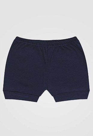 Shorts Zupt Baby Básico Azul Marinho