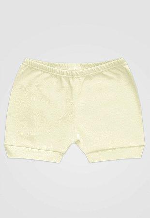 Shorts Zupt Baby Básico Bege