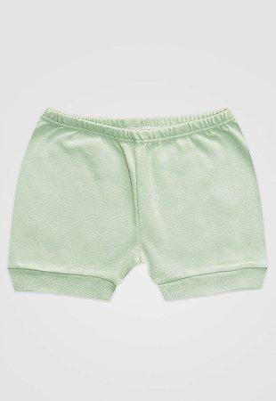 Shorts Zupt Baby Básico Verde