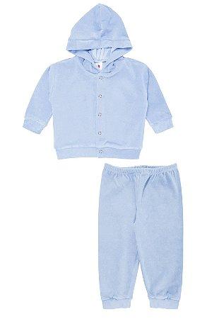 Conjunto 2pçs Zupt Baby Plush Azul