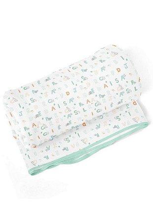 Cobertor Papi Letrinhas Branco