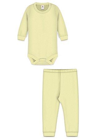 Conjunto 2 pçs, Zupt Baby, Amarelo