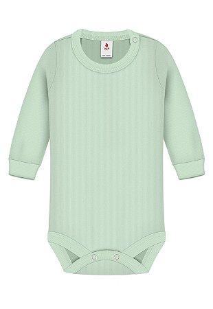 Body Básica Lisa, Zupt Baby, Verde