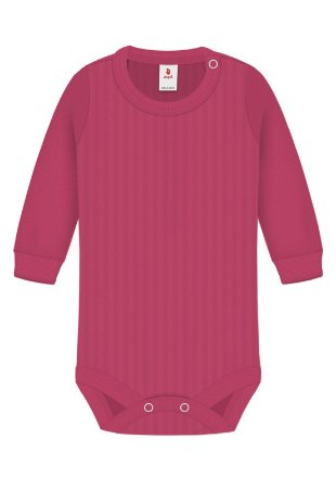 Body Básica Lisa, Zupt Baby, Pink