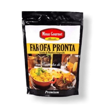 Farofa Castanha de Caju Minas Gourmet