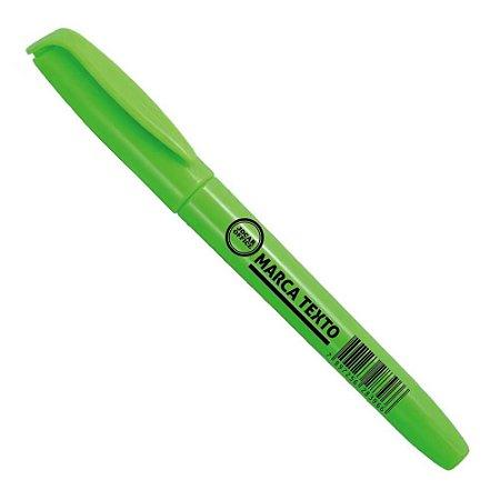 Caneta Marca Texto Slim Verde Jocar 96092