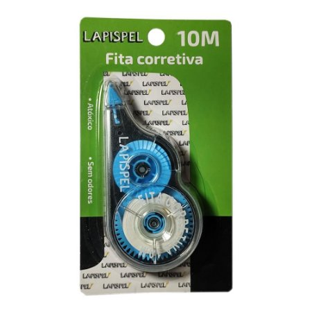Fita Corretiva 5mm 10 Metros Azul Lapispel 802422