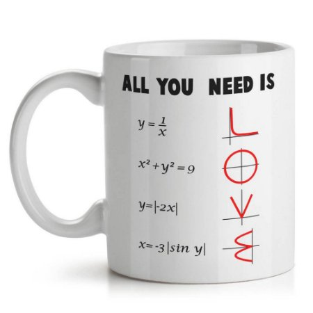 Caneca de Cerâmica 325ml All You Need Is Love Yaay! CAN126
