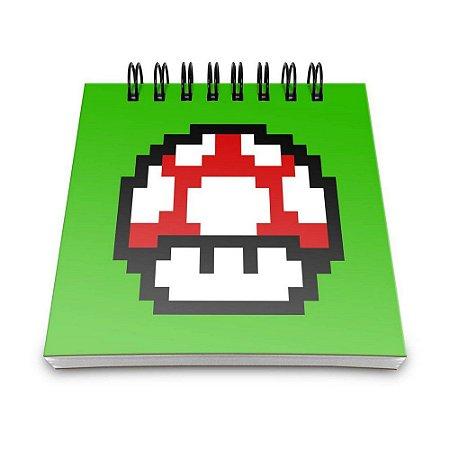 Bloco de Anotações 60 Folhas Pixel Grow Up Yaay! BLO036