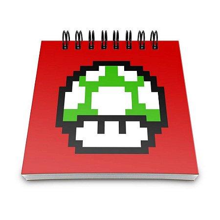 Bloco de Anotações 60 Folhas Pixel Get a Life Yaay! BLO037