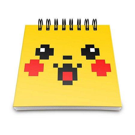 Bloco de Anotações 60 Folhas Pokénote Pixelchu Yaay! BLO026