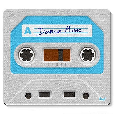 Mouse Pad Fita Cassete Dance Music 23x20cm Yaay! PAD048