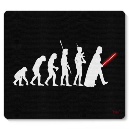 Mouse Pad Geek Evolution 23x20cm Yaay! PAD016