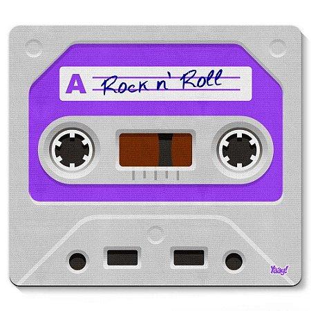 Mouse Pad Fita Cassete Rock'n'Roll 23x20cm Yaay! PAD049