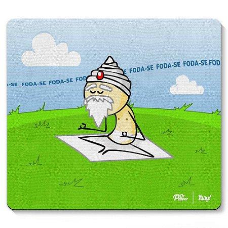 Mouse Pad DrPepper Sábio Meditando 23x20cm Yaay! PAD038