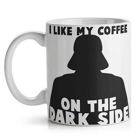Caneca de Cerâmica 325ml Geek Side Dark Coffee Yaay! CAN132