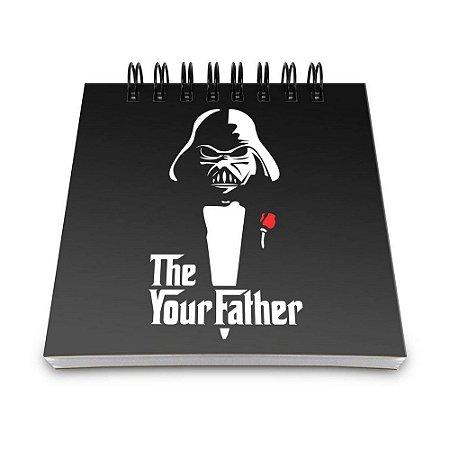 Bloco de Anotações 60 Folhas Geek Side Father Yaay! BLO021