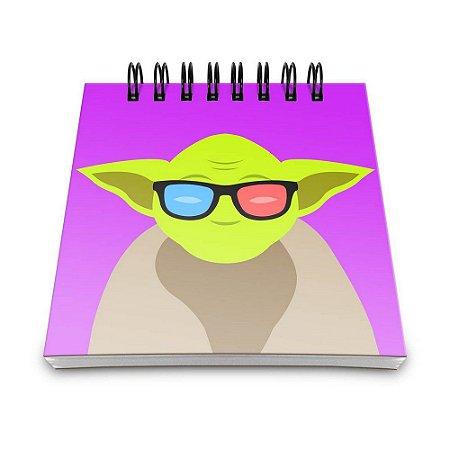 Bloco de Anotações 60 Folhas Geek Side Mestre Yaay! BLO005