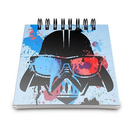 Bloco de Anotações 60 Folhas Geek Side Vader Yaay! BLO004